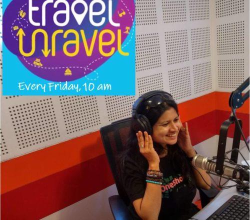 ansoo gupta hosts a weekly radio show on 106.4 fm